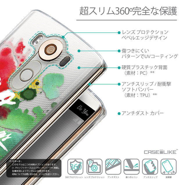 Details in Japanese - CASEiLIKE LG V10 back cover Quote 2424