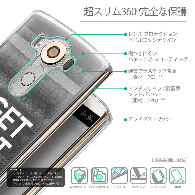 Details in Japanese - CASEiLIKE LG V10 back cover Quote 2429