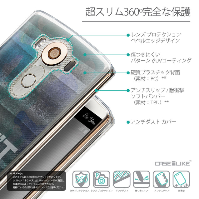 Details in Japanese - CASEiLIKE LG V10 back cover Quote 2431
