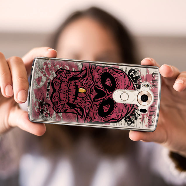 Share - CASEiLIKE LG V10 back cover Art of Skull 2523