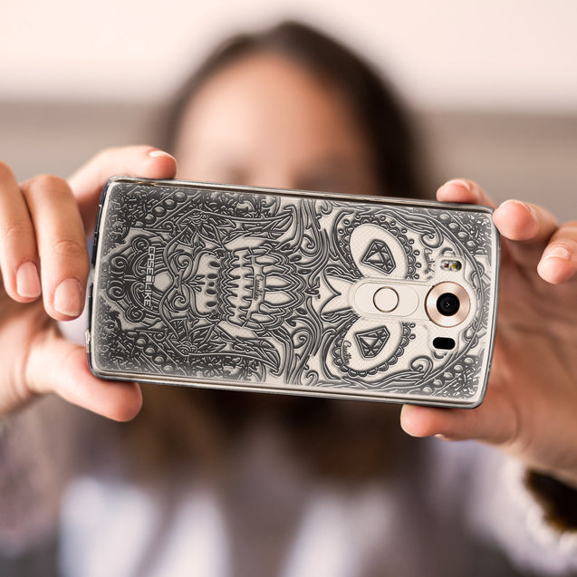 Share - CASEiLIKE LG V10 back cover Art of Skull 2524