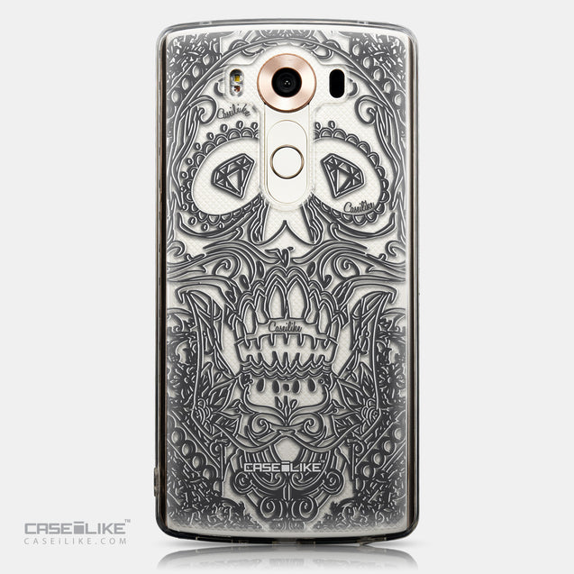 CASEiLIKE LG V10 back cover Art of Skull 2524