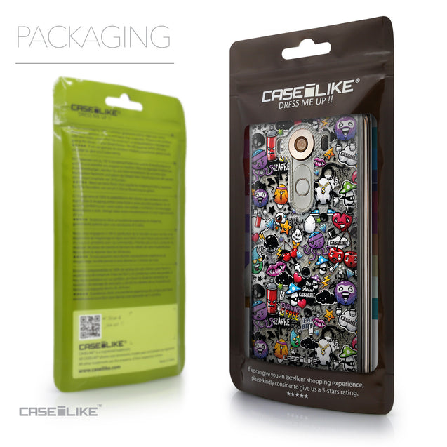 Packaging - CASEiLIKE LG V10 back cover Graffiti 2703