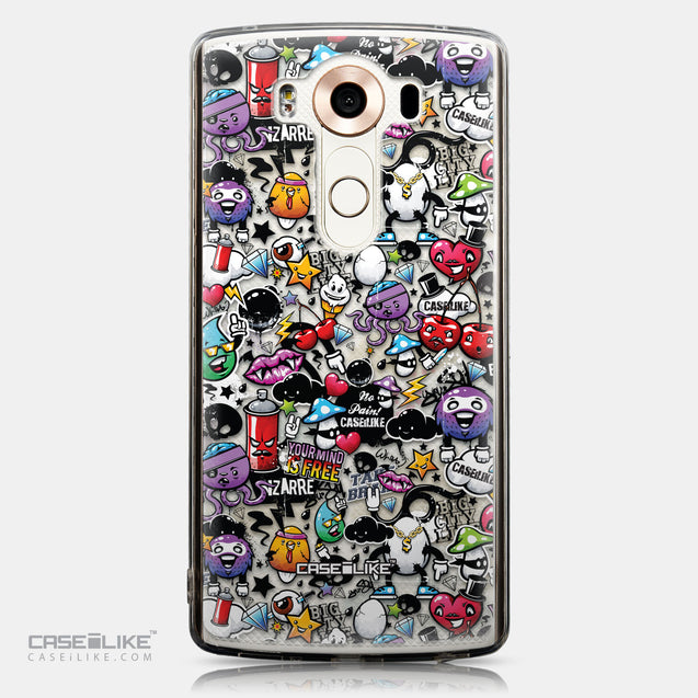 CASEiLIKE LG V10 back cover Graffiti 2703
