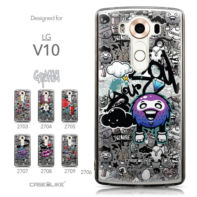 Collection - CASEiLIKE LG V10 back cover Graffiti 2706