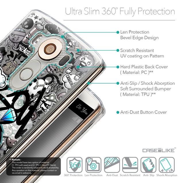 Details in English - CASEiLIKE LG V10 back cover Graffiti 2706