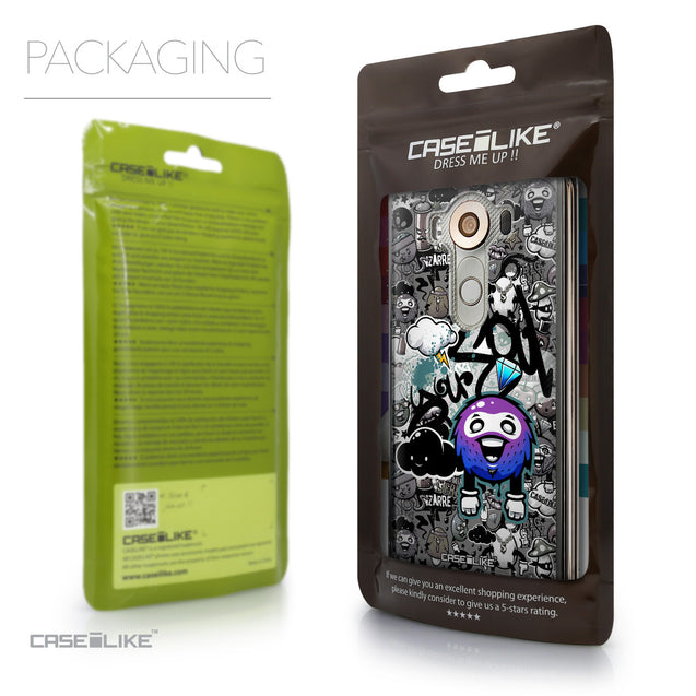 Packaging - CASEiLIKE LG V10 back cover Graffiti 2706