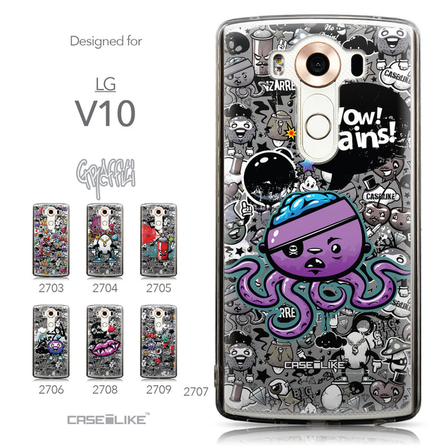 Collection - CASEiLIKE LG V10 back cover Graffiti 2707