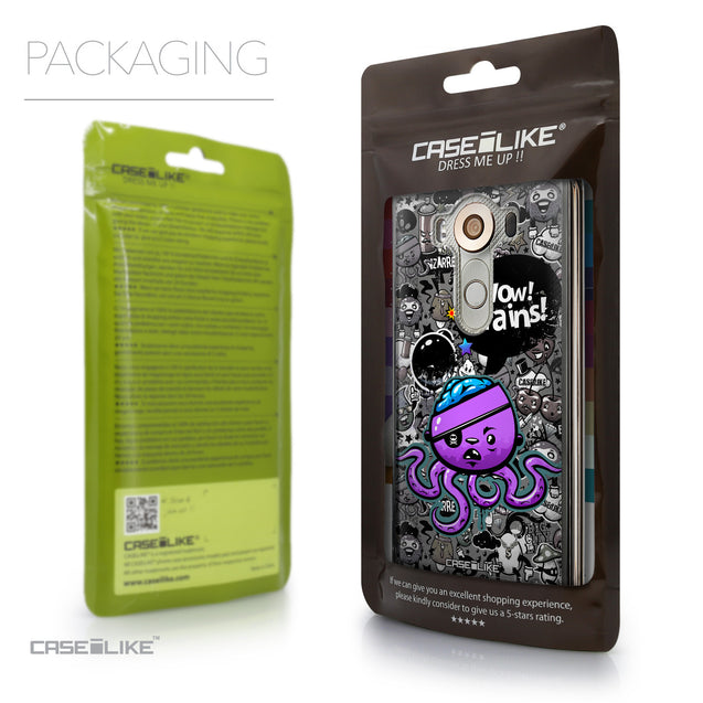 Packaging - CASEiLIKE LG V10 back cover Graffiti 2707