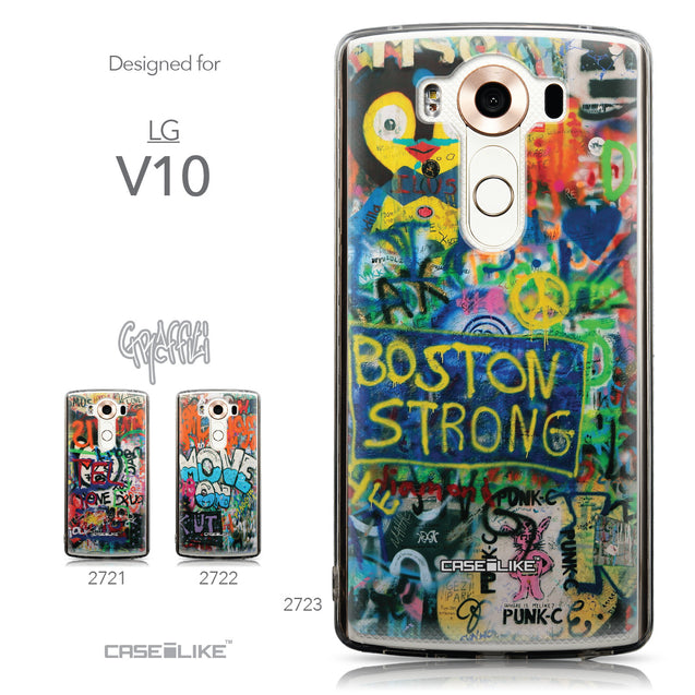 Collection - CASEiLIKE LG V10 back cover Graffiti 2723