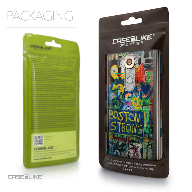 Packaging - CASEiLIKE LG V10 back cover Graffiti 2723