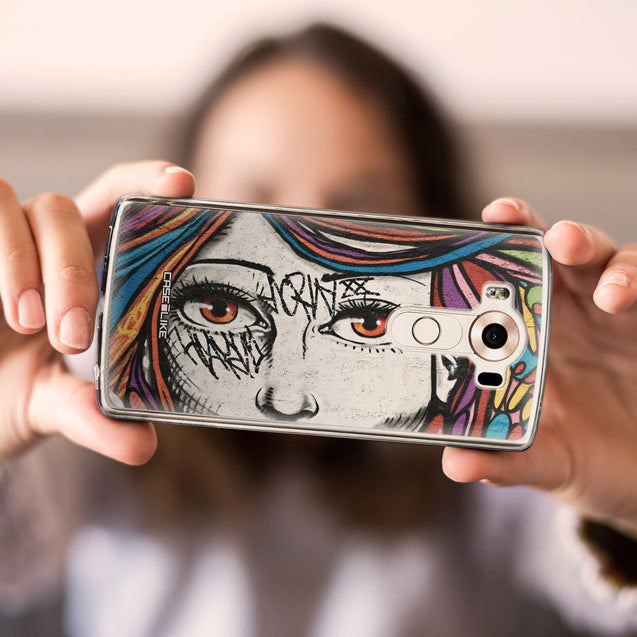 Share - CASEiLIKE LG V10 back cover Graffiti Girl 2725