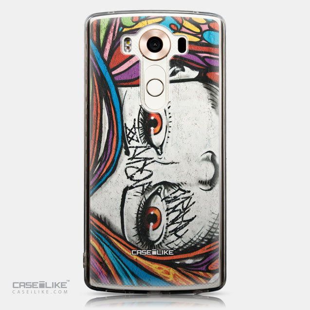 CASEiLIKE LG V10 back cover Graffiti Girl 2725