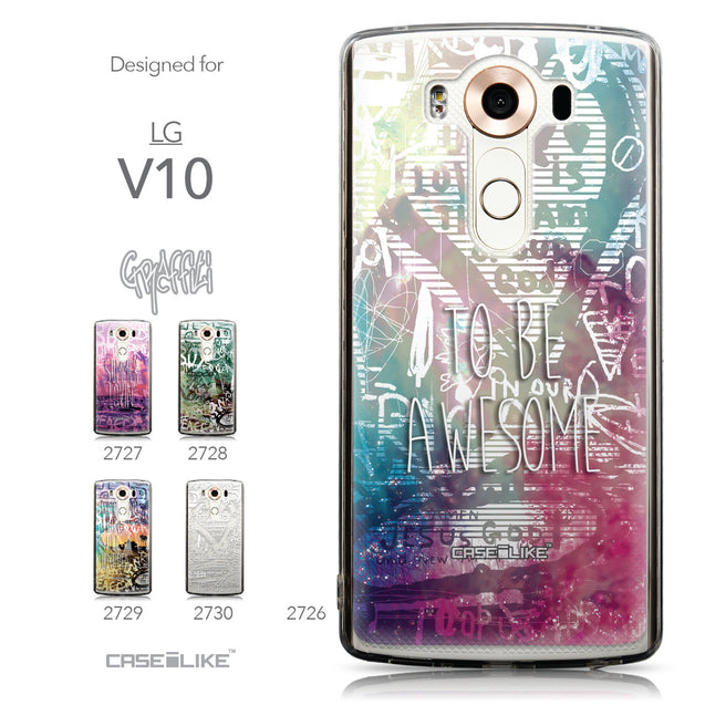 Collection - CASEiLIKE LG V10 back cover Graffiti 2726