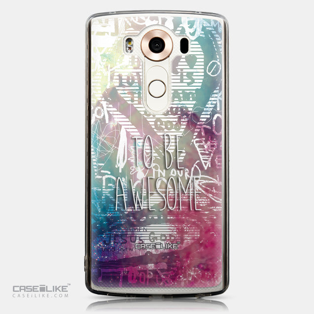 CASEiLIKE LG V10 back cover Graffiti 2726