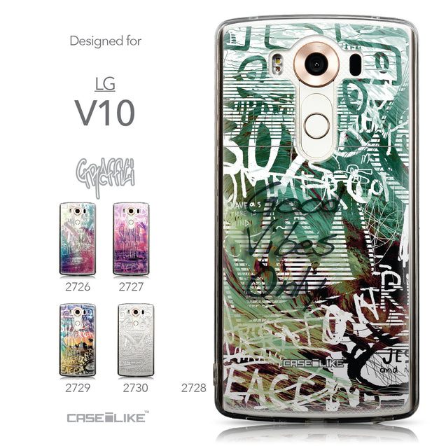 Collection - CASEiLIKE LG V10 back cover Graffiti 2728