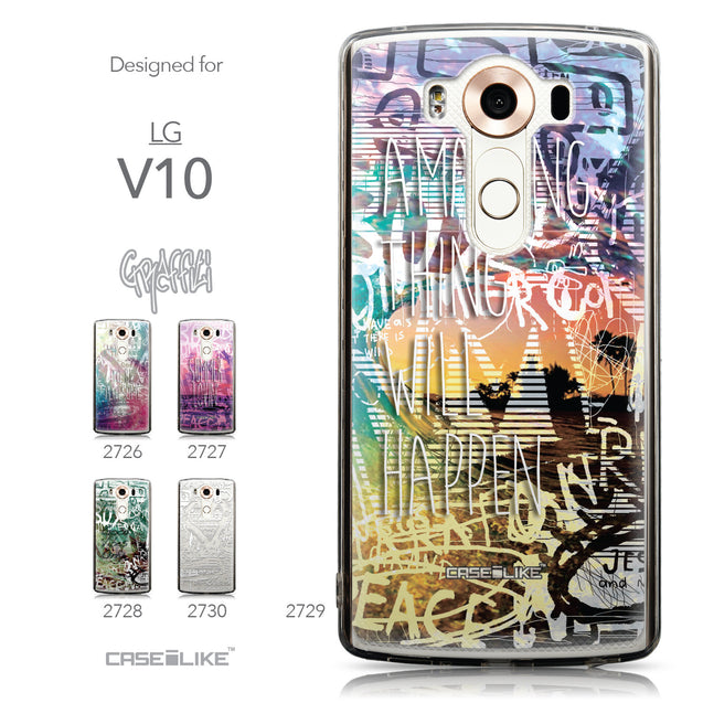 Collection - CASEiLIKE LG V10 back cover Graffiti 2729