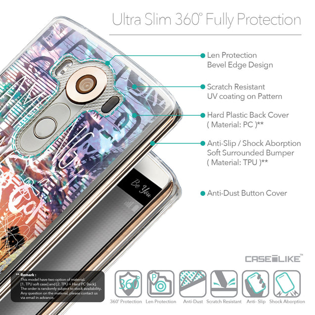 Details in English - CASEiLIKE LG V10 back cover Graffiti 2729