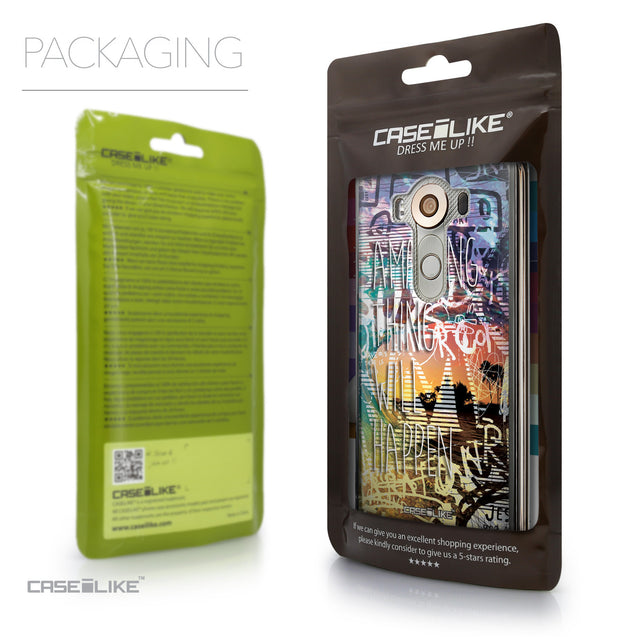 Packaging - CASEiLIKE LG V10 back cover Graffiti 2729