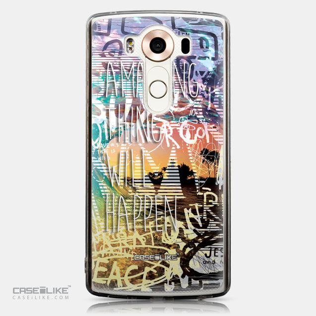 CASEiLIKE LG V10 back cover Graffiti 2729