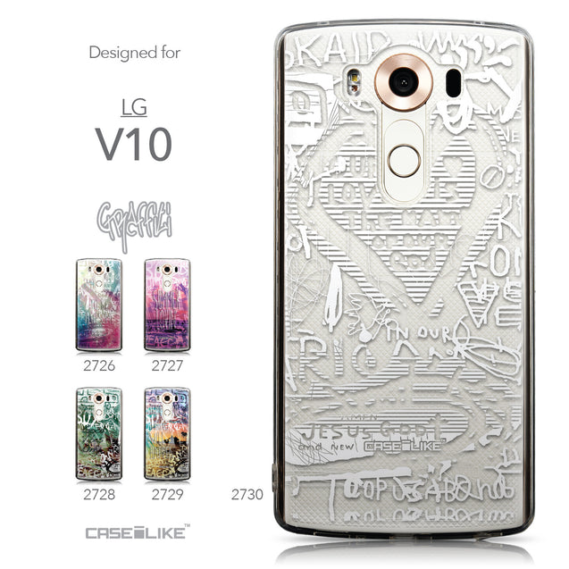 Collection - CASEiLIKE LG V10 back cover Graffiti 2730