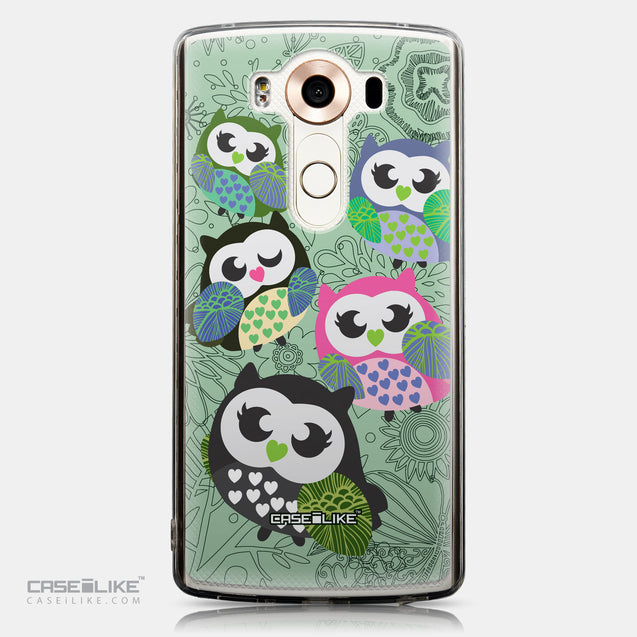 CASEiLIKE LG V10 back cover Owl Graphic Design 3313