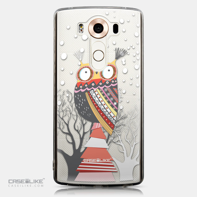 CASEiLIKE LG V10 back cover Owl Graphic Design 3317