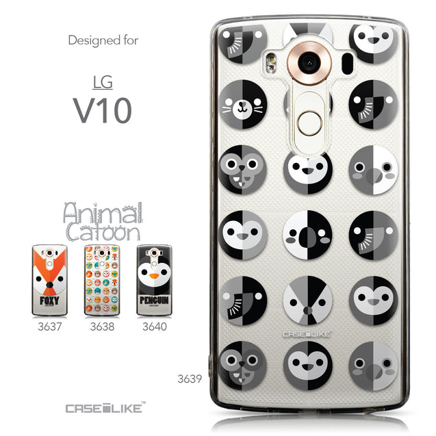 Collection - CASEiLIKE LG V10 back cover Animal Cartoon 3639