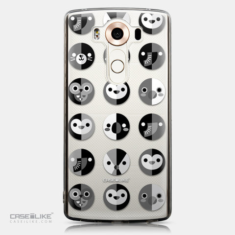 CASEiLIKE LG V10 back cover Animal Cartoon 3639