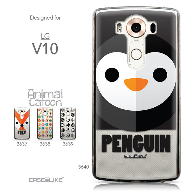 Collection - CASEiLIKE LG V10 back cover Animal Cartoon 3640