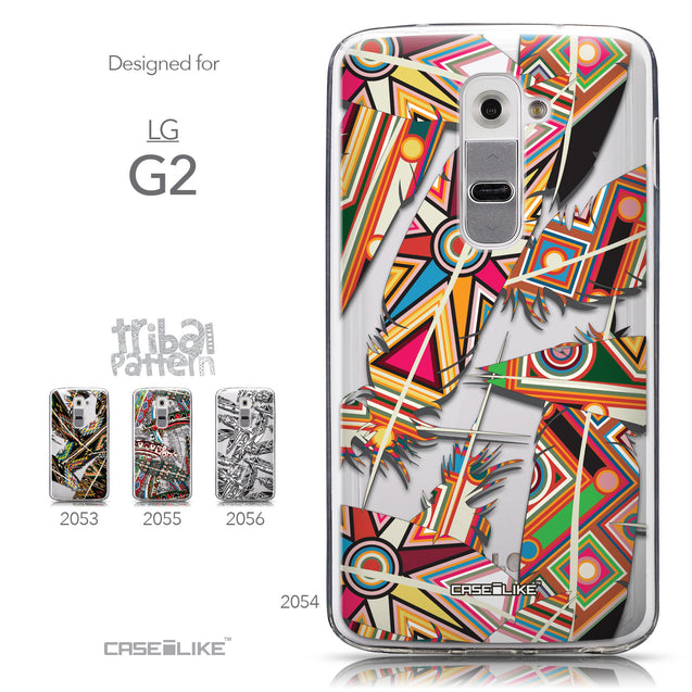Collection - CASEiLIKE LG G2 back cover Indian Tribal Theme Pattern 2054
