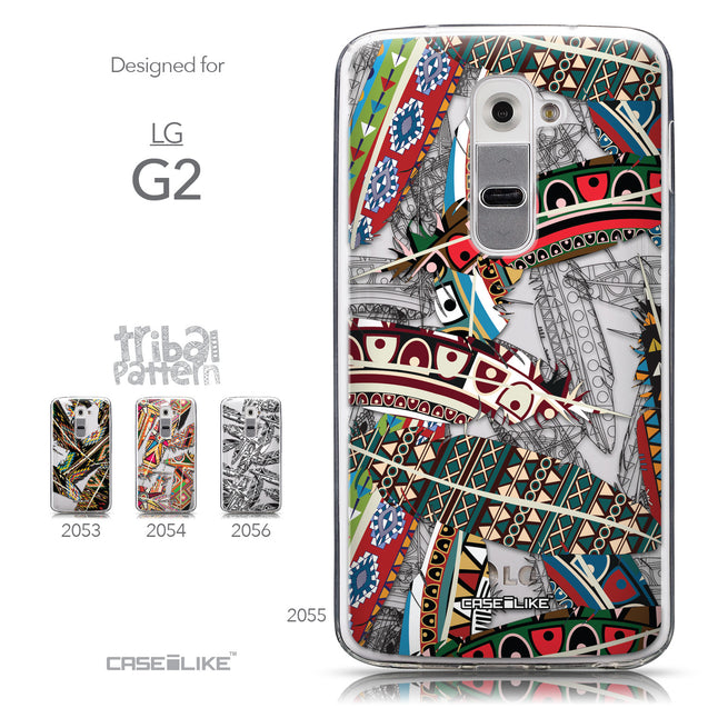 Collection - CASEiLIKE LG G2 back cover Indian Tribal Theme Pattern 2055