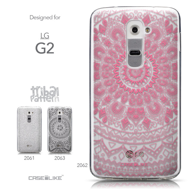 Collection - CASEiLIKE LG G2 back cover Indian Line Art 2062