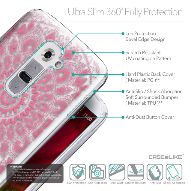 Details in English - CASEiLIKE LG G2 back cover Indian Line Art 2062
