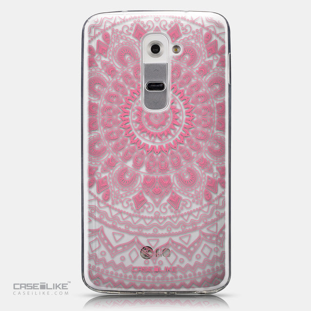 CASEiLIKE LG G2 back cover Indian Line Art 2062