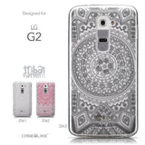 Collection - CASEiLIKE LG G2 back cover Indian Line Art 2063