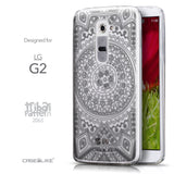 Front & Side View - CASEiLIKE LG G2 back cover Indian Line Art 2063