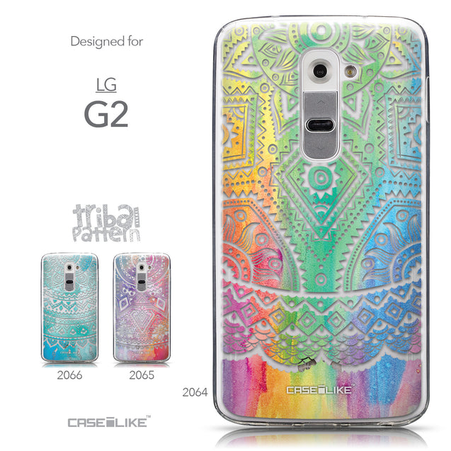 Collection - CASEiLIKE LG G2 back cover Indian Line Art 2064