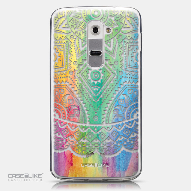 CASEiLIKE LG G2 back cover Indian Line Art 2064