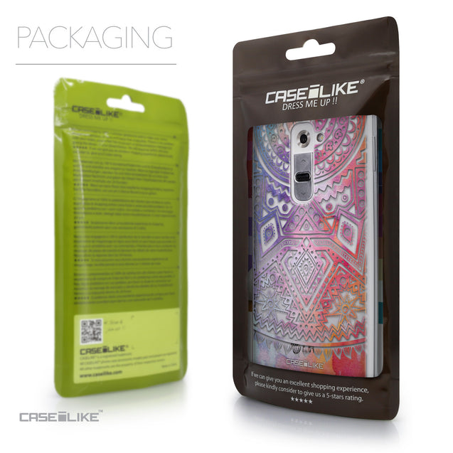 Packaging - CASEiLIKE LG G2 back cover Indian Line Art 2065
