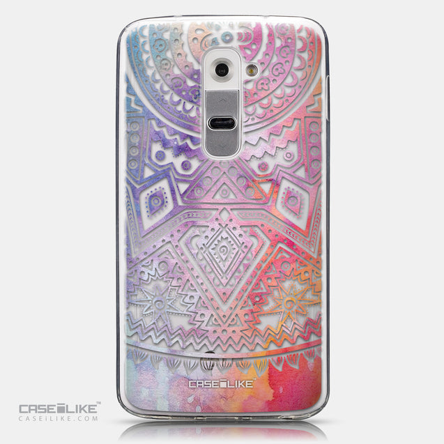 CASEiLIKE LG G2 back cover Indian Line Art 2065