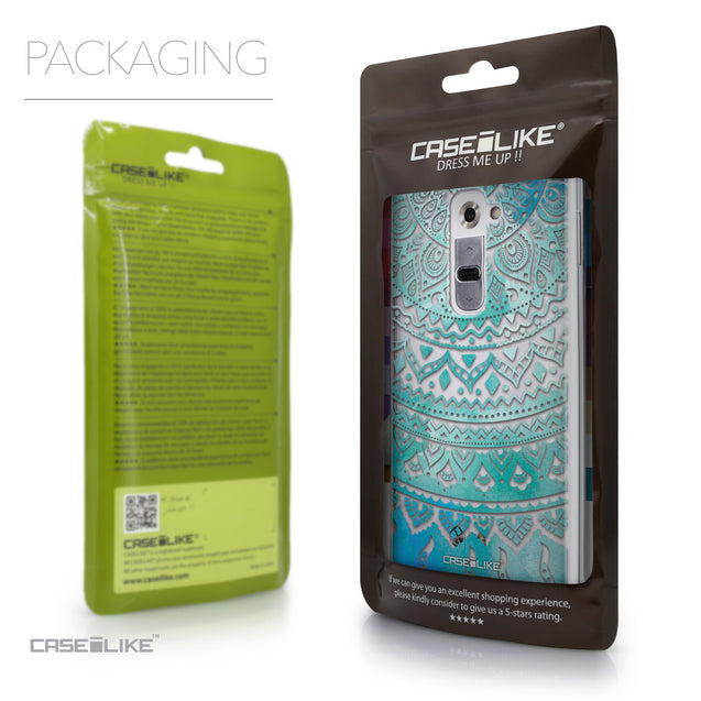 Packaging - CASEiLIKE LG G2 back cover Indian Line Art 2066