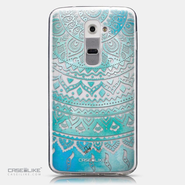 CASEiLIKE LG G2 back cover Indian Line Art 2066
