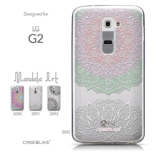 Collection - CASEiLIKE LG G2 back cover Mandala Art 2092