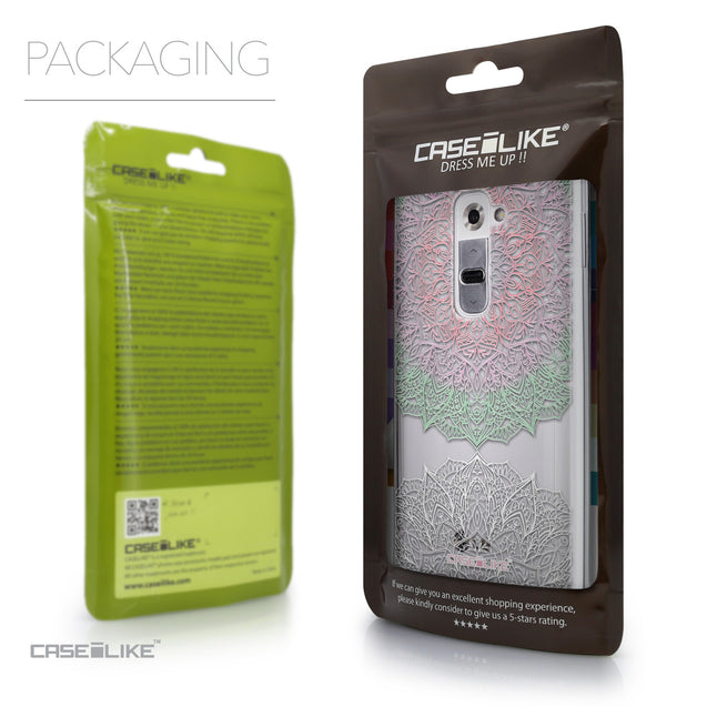 Packaging - CASEiLIKE LG G2 back cover Mandala Art 2092