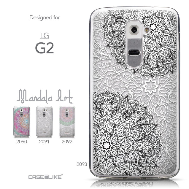Collection - CASEiLIKE LG G2 back cover Mandala Art 2093