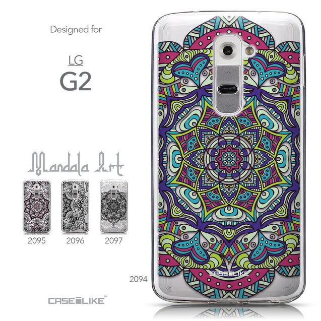 Collection - CASEiLIKE LG G2 back cover Mandala Art 2094