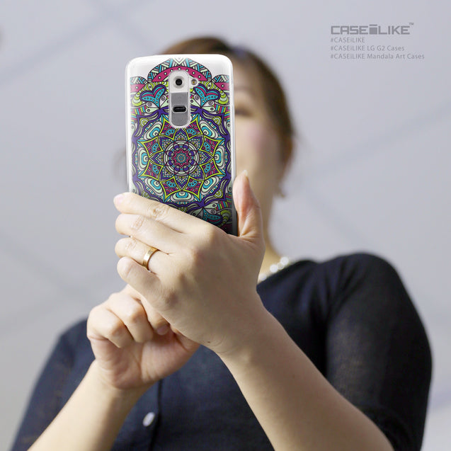 Share - CASEiLIKE LG G2 back cover Mandala Art 2094