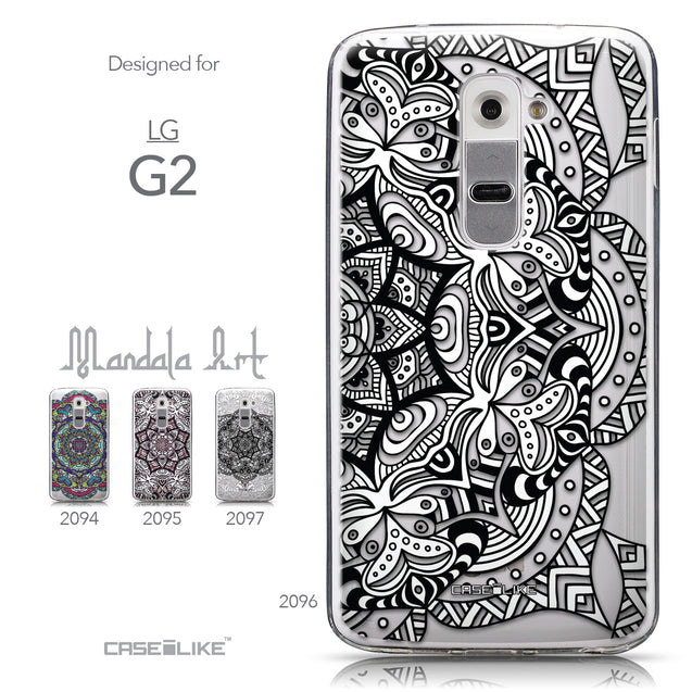 Collection - CASEiLIKE LG G2 back cover Mandala Art 2096