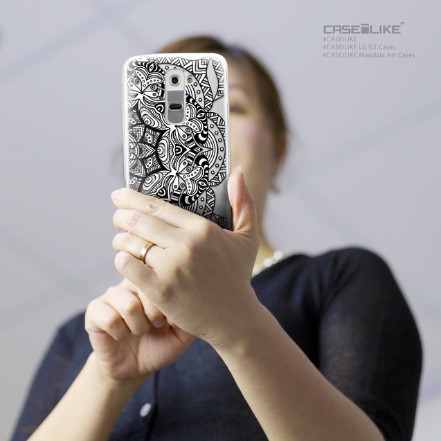 Share - CASEiLIKE LG G2 back cover Mandala Art 2096